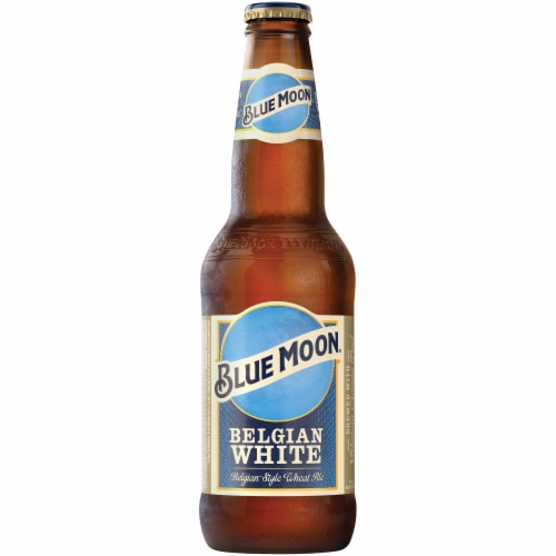 Blue Moon Belgian White Ale Perspective: front