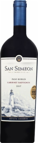 San Simeon Paso Robles Cabernet Sauvignon Perspective: front