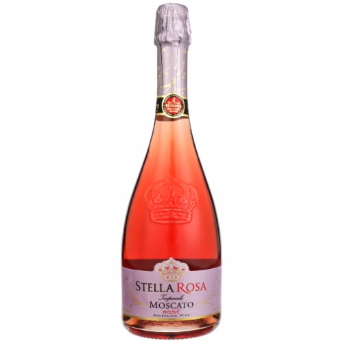 Stella Rosa Imperiale Moscato Rose Sparkling Wine Perspective: front