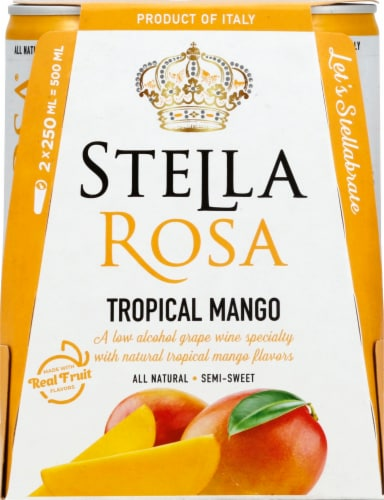 Stella Rosa Tropical Mango Wine Perspective: front