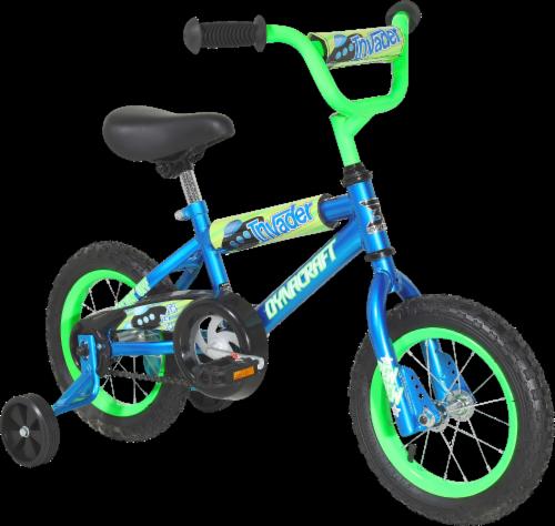 Dynacraft Kids' Invader Bike - Blue/Green Perspective: front