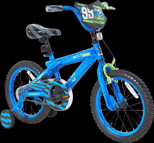 Dynacraft Kids' Rattlesnake Bike - Blue Perspective: front