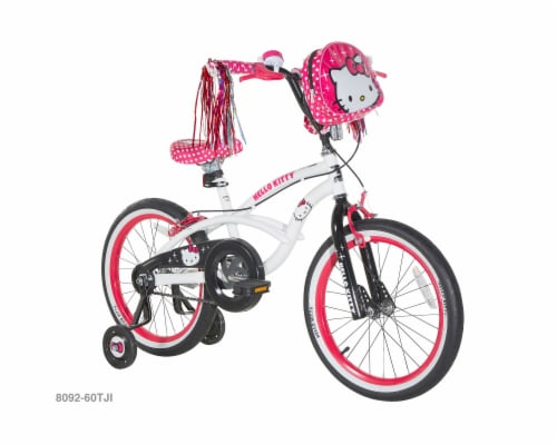 Dynacraft Hello Kitty Bike - White Perspective: front