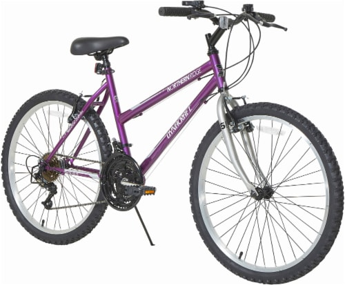Dynacraft Ladies 15S Northern Ridge Bicycle - Mulberry Perspective: front