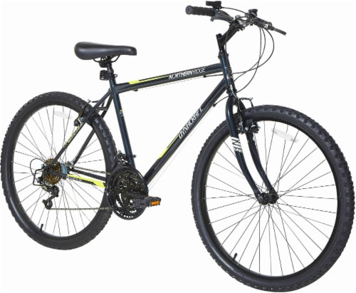 Dynacraft Men's 15S Northern Ridge Bicycle - Black Perspective: front