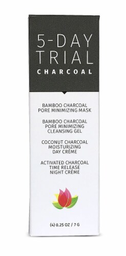 Reviva Labs 5-Day Trial Charcoal Kit Perspective: front