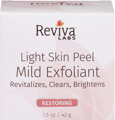 Reviva Labs Restoring Light Skin Peel Mild Exfoliant Perspective: front