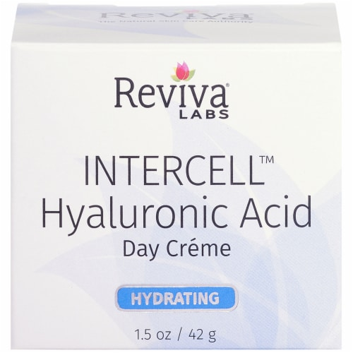 Reviva Labs Hydrating Intercell Hyaluronic Acid Day Creme Perspective: front