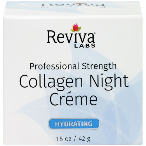 Reviva Labs Hydrating Collagen Night Crème Perspective: front