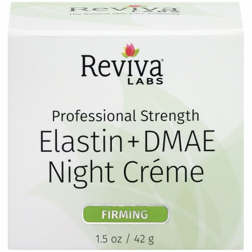 Reviva Labs Elastin + DMAE Night Creme Perspective: front