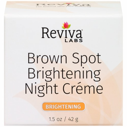 Reviva Labs Brown Spot Brightening Night Crème Perspective: front