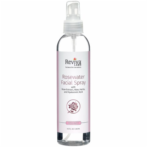 Reviva Labs Rosewater Facial Spray Perspective: front