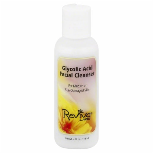Reviva Labs Glycolic Acid Facial Cleanser Perspective: front