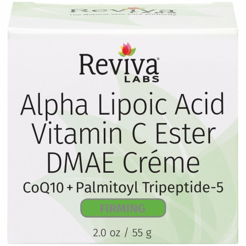 Reviva Labs Alpha Lipoic Acid Vitamin C Ester DMAE Firming Créme Perspective: front