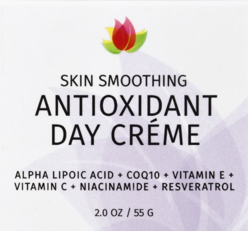 Reviva Labs Antioxidant Skin Smoothing Day Cream Perspective: front