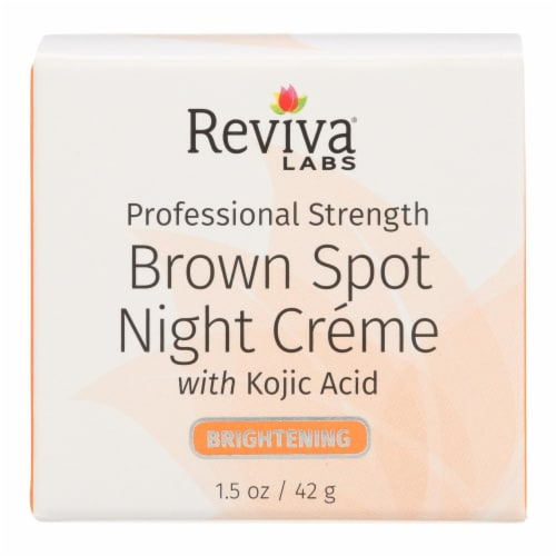 Reviva Labs Brightening Brown Spot Night Creme Perspective: front
