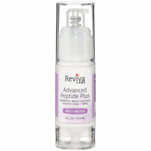 Reviva Labs Advanced Peptide Plus Anti-Aging Cream Perspective: front