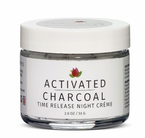 Reviva Labs Charcoal Night Creme Perspective: front