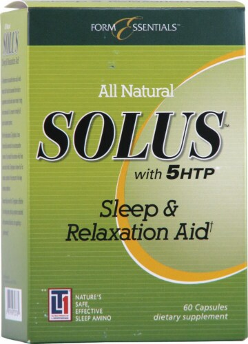 Solus  With 5HTP and Melatonin Perspective: front