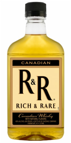 Rich & Rare Canadian Whisky Perspective: front