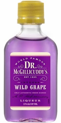 Dr. McGillicuddy's Intense Wild Grape Liqueur Perspective: front
