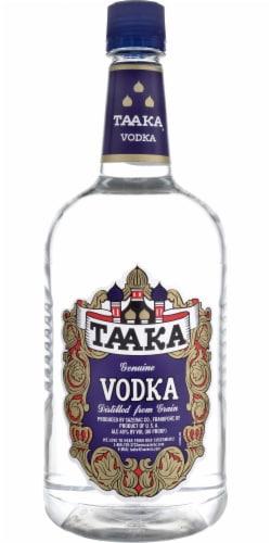 Taaka Genuine Vodka Perspective: front