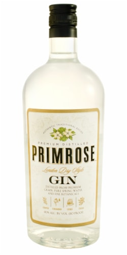 Primrose Dry Gin Perspective: front