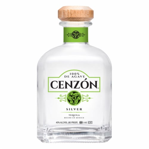 Cenzon Silver Tequila Perspective: front