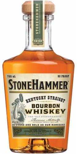 Stonehammer Distiller's Reserve Kentucky Straight Bourbon Whiskey Perspective: front