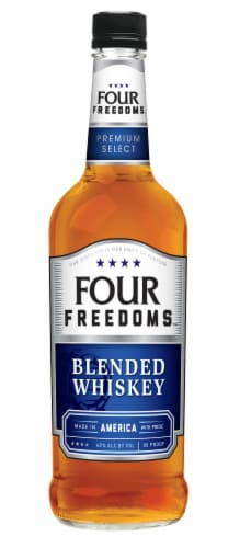 Four Freedoms Blended Whiskey Perspective: front