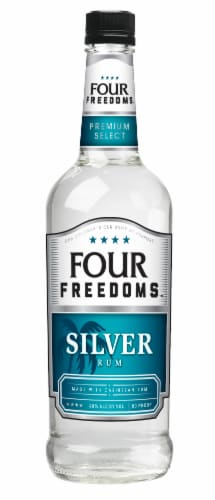 Four Freedoms Silver Rum Perspective: front