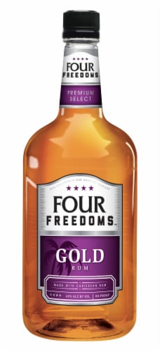 Four Freedoms Gold Rum Perspective: front