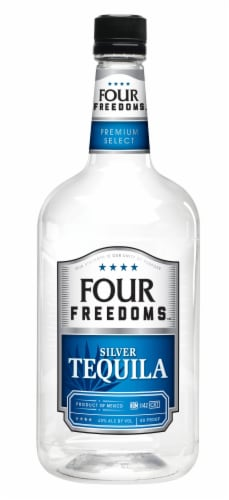 Four Freedoms Silver Tequila Perspective: front