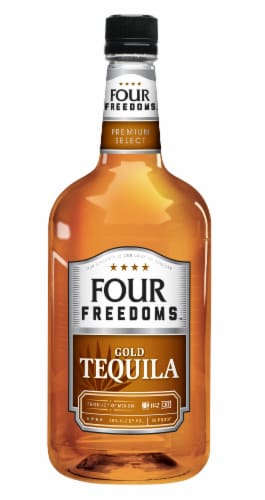 Four Freedoms Gold Tequila Perspective: front