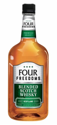 Four Freedoms Blended Scotch Whisky Perspective: front
