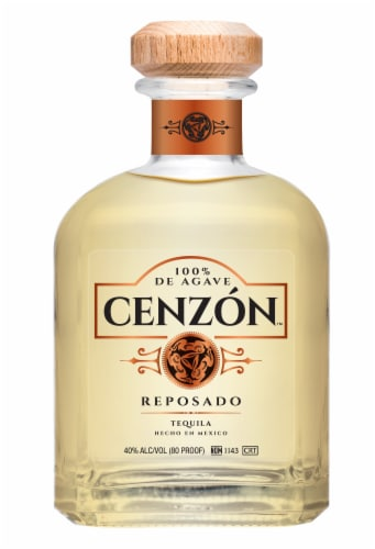 Cenzon Reposado Tequila Perspective: front