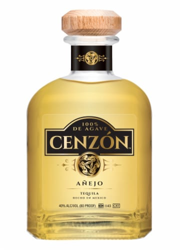 Cenzon Anejo Tequila Perspective: front