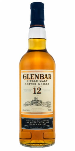 Glenbar 12 Year Scotch Perspective: front