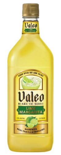 Valeo Ready-to-Serve Lime Margarita Perspective: front