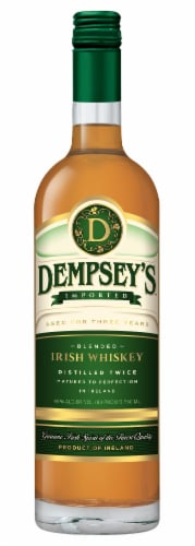 Dempsey's Irish Whiskey Perspective: front