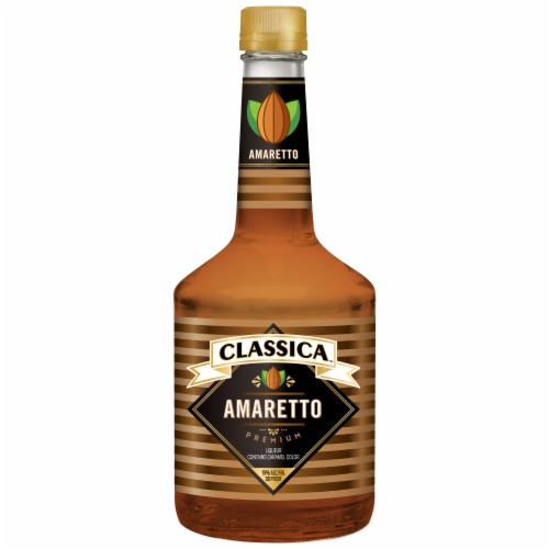Classica Amaretto Liqueur Perspective: front