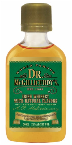 Dr. McGillicuddy's Irish Whiskey Perspective: front