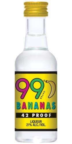 99 Brand Bananas Liqueur Perspective: front