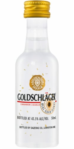 Goldschlager Cinnamon Flavored Liqueur Perspective: front
