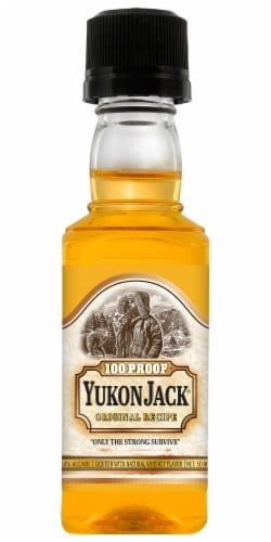 Yukon Jack Liqueur Perspective: front