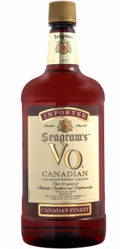 Seagram's VO Canadian Whisky Perspective: front