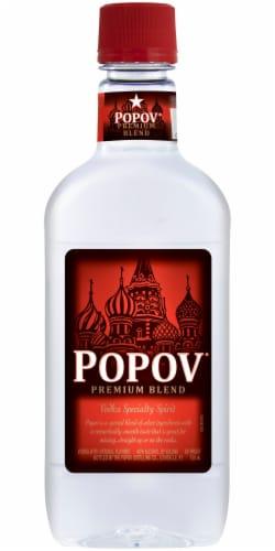 Popov Premium Blend Vodka Perspective: front