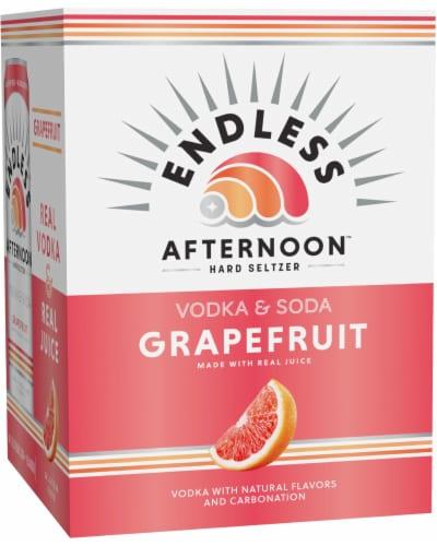 Endless Summer Afternoon Grapefruit Vodka Soda Perspective: front