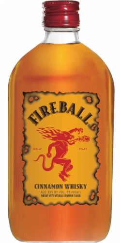 Fireball® Cinnamon Whisky Perspective: front
