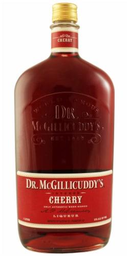 Dr. McGillicuddy's Cherry Liqueur Perspective: front